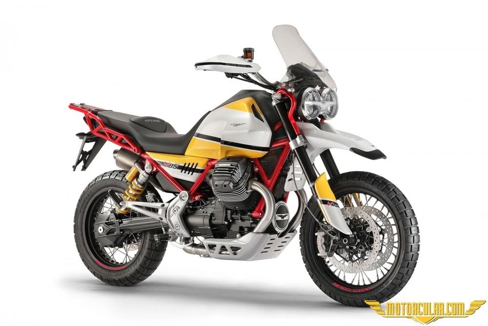 Moto Guzzi V85 Geliyor