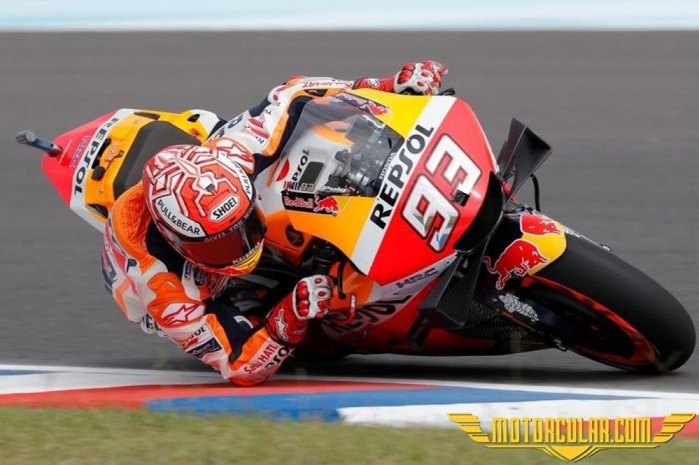 MotoGP Arjantin'de Marquez Rüzgarı