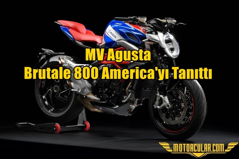 MV Agusta Brutale 800 America'yı Tanıttı
