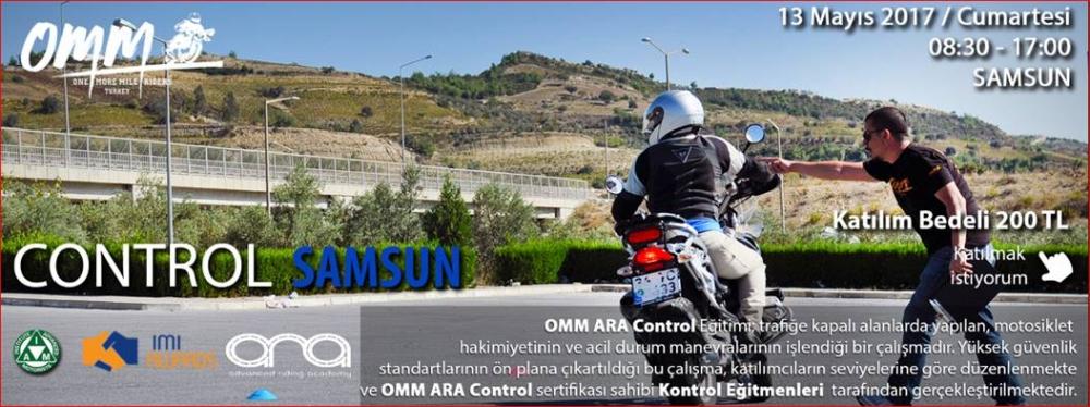 OMM - ARA Control SAMSUN 13 Mayıs 2017