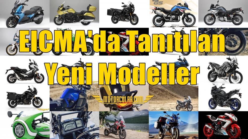 EICMA'da Tanıtılan Yeni Modeller