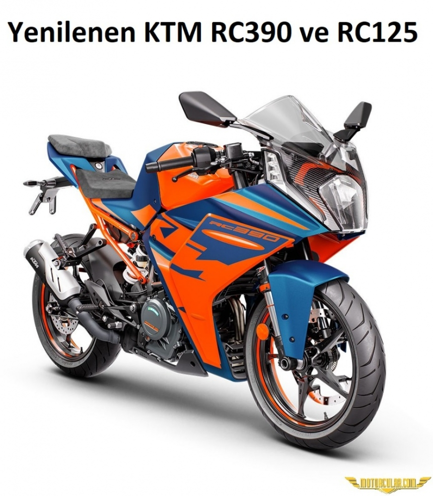 Yenilenen KTM RC390 ve RC125 Sunuldu