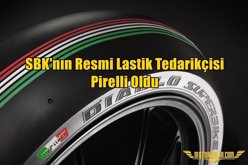 SBK'nın Resmi Lastik Tedarikçisi Pirelli Oldu