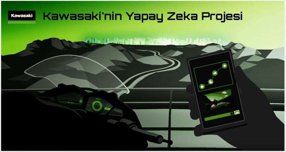 Kawasaki'nin Yapay Zeka Projesi
