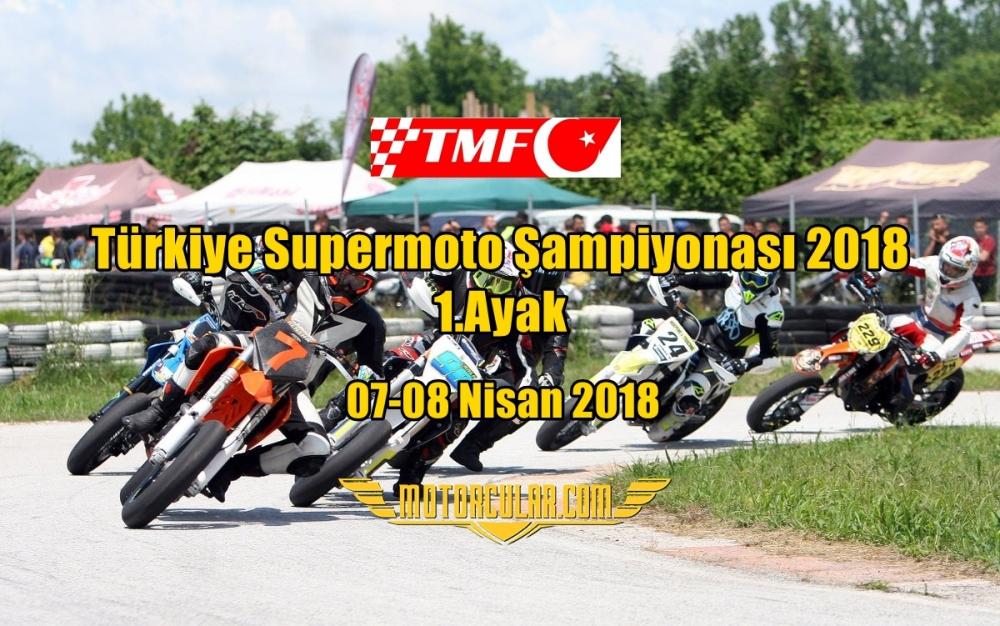 Türkiye Supermoto Şampiyonası 2018 1.Ayak