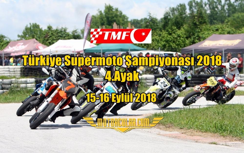 Türkiye Supermoto Şampiyonası 2018 4.Ayak