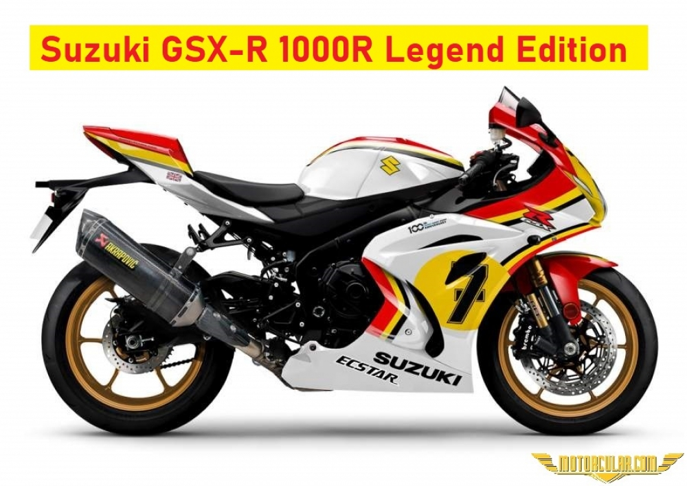 Suzuki GSX-R1000R Legend Edition Sunuldu