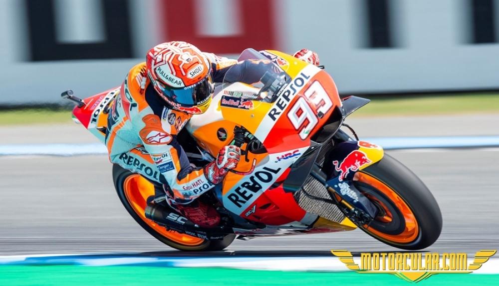 Tayland MotoGP'de Kazanan Marquez