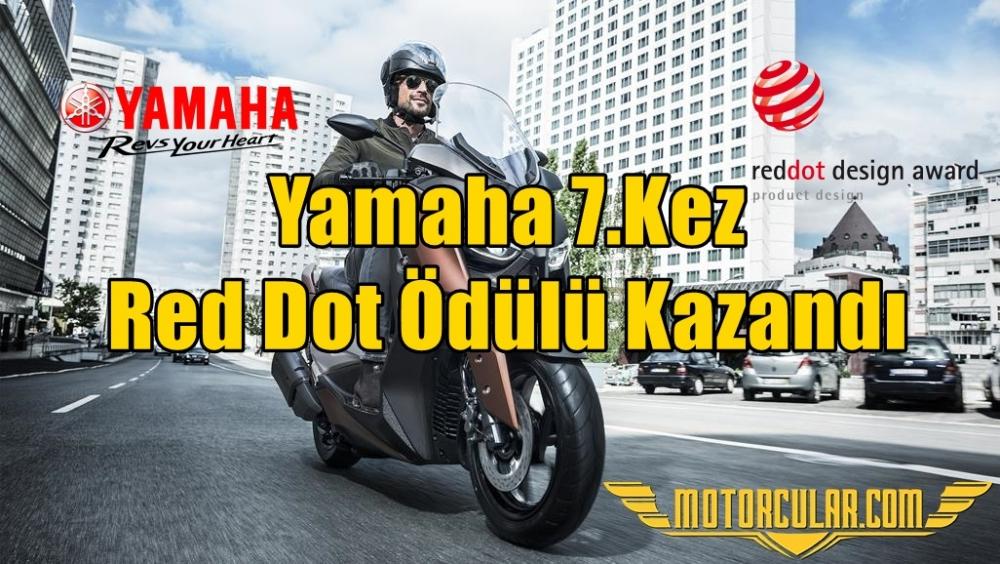 Yamaha 7.Kez Red Dot Ödülü Kazandı