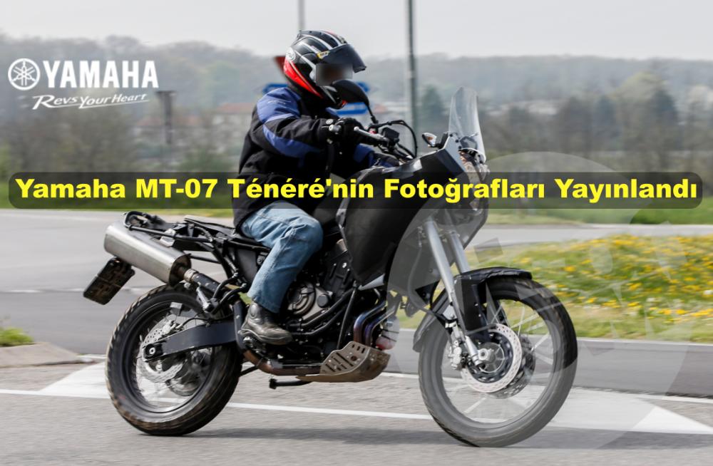Yamaha MT-07 Ténéré'nin Fotoğrafları Yayınlandı