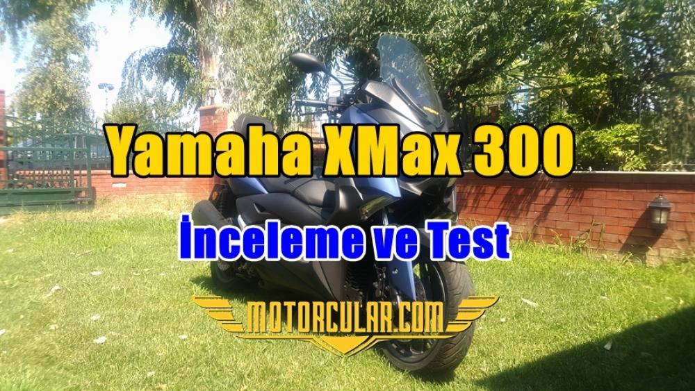 2018 Yamaha XMax 300 Motosiklet İnceleme ve Test Videosu