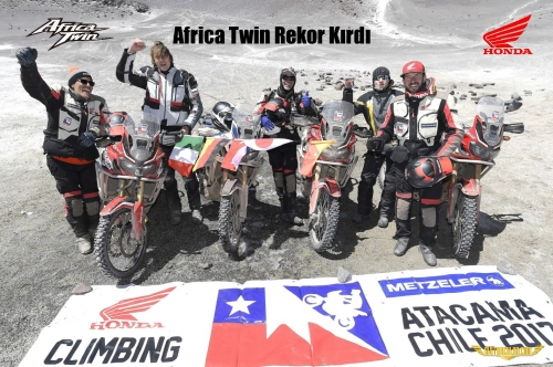 Africa Twin Rekor Kırdı