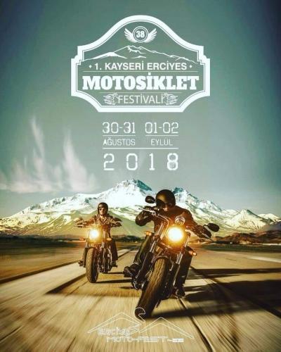 1.Kayseri Erciyes Motosiklet Festivali