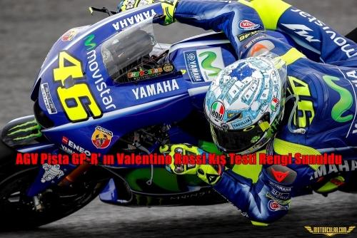 AGV Pista GP-R'ın Valentino Rossi Kış Testi Rengi Sunuldu