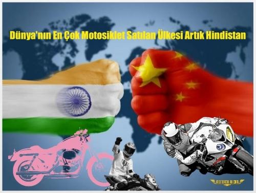 Dünya'nın En Çok Motosiklet Satılan Ülkesi Artık Hindistan