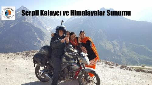 Serpil Kalaycı ve Himalayalar Sunumu, İzmir Motosiklet Kulübü 28 Şubat 2017