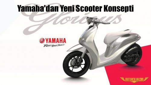 Yamaha'dan Yeni Scooter Konsepti