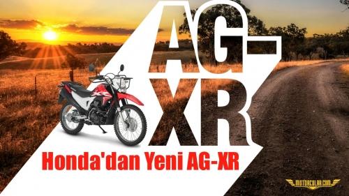 Honda'dan Yeni AG-XR