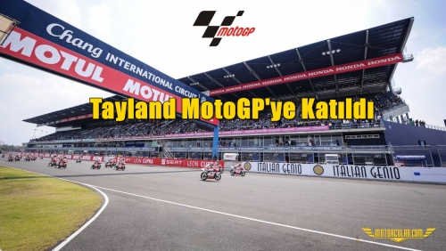 Tayland MotoGP'ye Katıldı
