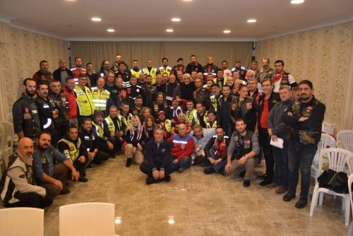 Türkiye'deki Motosiklet Kulüpleri ile Bir Aya Geldi
