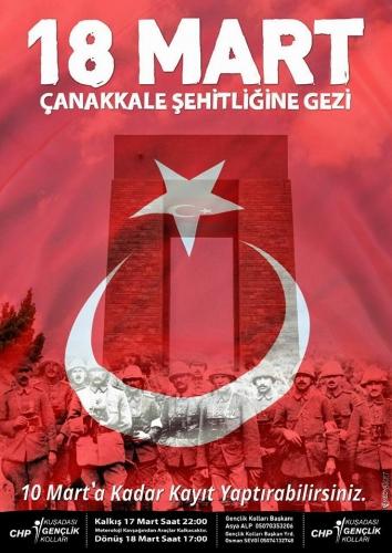 18 Mart Çanakkale Şehitlerini Anmaya Gidiyoruz, Çanakkale 18 Mart 2027