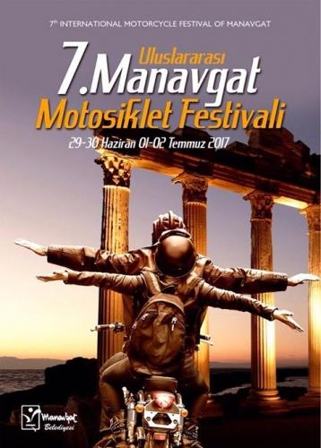 7. Manavgat Motosiklet Festivali, Manavgat Antalya 29 Haziran - 02 Temmuz 2017