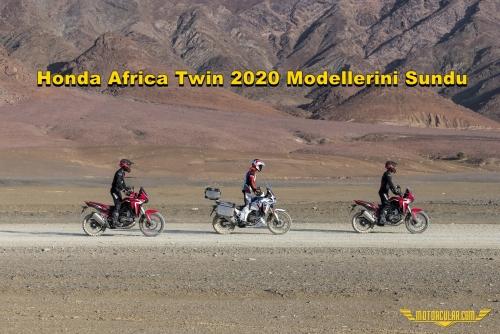 Honda Africa Twin 2020 Modellerini Sundu