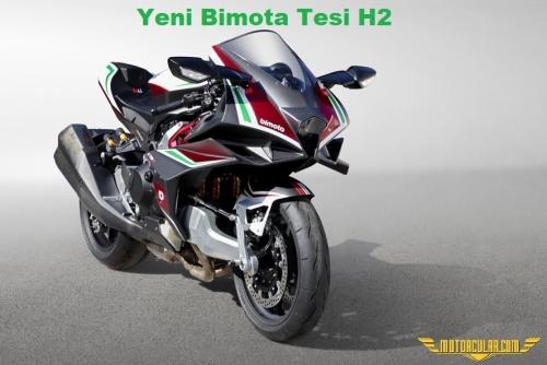 Yeni Bimota Tesi H2 Kawasaki H2'nin Tahtına Oturuyor