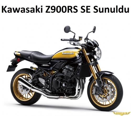 Kawasaki Z900RS SE 'Yellow Ball' Sunuldu
