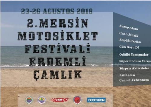 2.Mersin Motosiklet Festivali