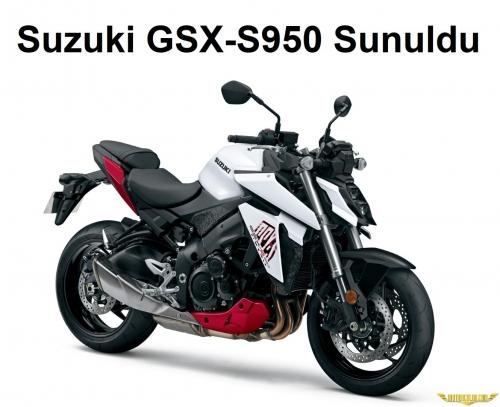Suzuki GSX-S 950 Sunuldu