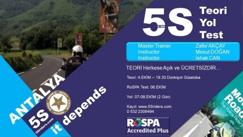 5Sriders Antalya Eğitimi 7-8 Ekim 2017