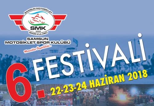 6.Samsun Motosiklet Festivali 22-24 Haziran 2018