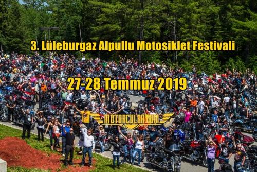 3. Lüleburgaz Alpullu Motosiklet Festivali