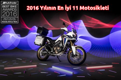 2016 Yılının En İyi 11 Motosikleti