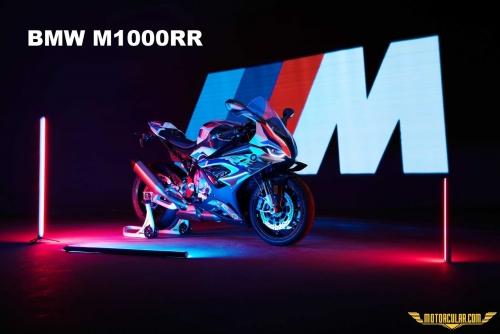 M Logolu İlk Motosiklet BMW M1000RR