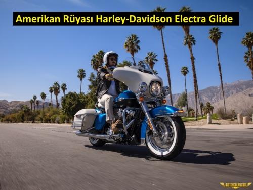 Harley-Davidson Electra Glide Revival Modeli Sunuldu
