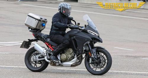 Yeni Ducati Multistrada V4 Test Edilirken Görüntülendi