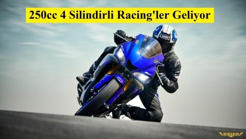 Yamaha ve Honda'nın 4 Silindirli 250cc Racing Planları