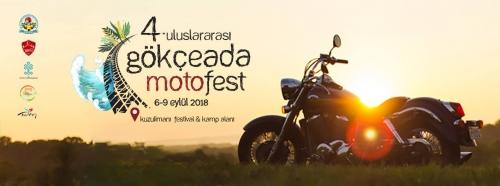 4.Gökçeada Motosiklet Festivali 06-09 Eylül 2018
