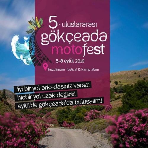 5. Gökçeada Motosiklet Festivali