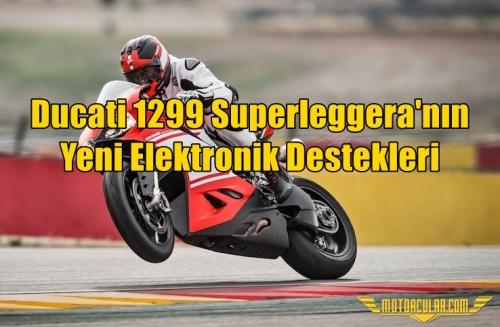 Ducati 1299 Superleggera'nın Yeni Elektronik Destekleri
