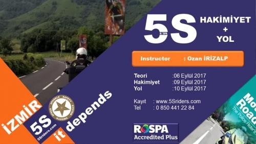 5Sriders Paket İzmir 9-10 Eylül 2017
