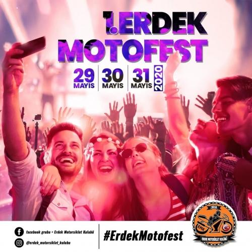 1. Erdek Motosiklet Festivali,  29 -31 Mayıs 2020 Erdek - Balıkesir
