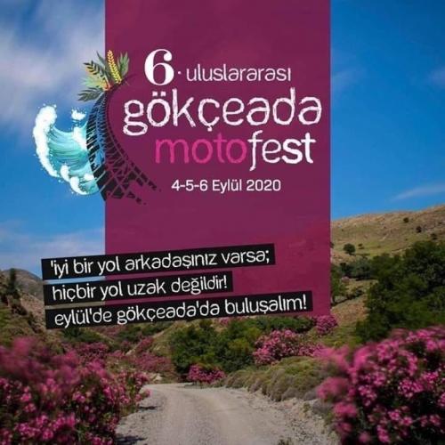 6. Gökçeada Motofest, 04-06 Eylül 2020 Gökçeada - Çanakkale