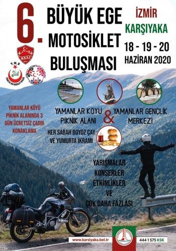 6. Ege Büyük Buluşması, 18-20 Haziran 2020, Yamanlar, Piknik Alanı Karşıyaka-İzmir