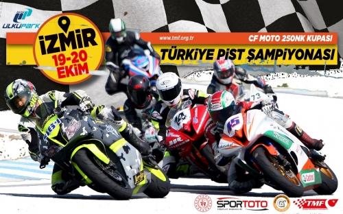 Türkiye Pist Şampiyonası İzmir Ülkü Park'ta Yapılacak