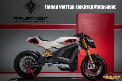 İtalian Volt'tan Elektrikli Motosiklet Lacama