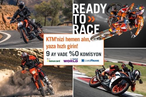 KTM'nizi Hemen Alın, Yaza Hızlı Girin!