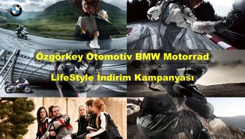 Özgörkey Otomotiv BMW Motorrad LifeStyle İndirim Kampanyası